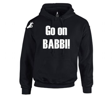 Go On Babbi Hoodie Official Simply Loveleh Brotherhood